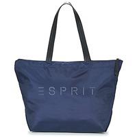 Taška Ženy Kabelky s dlouhým popruhem Esprit CLEO SHOPPER Tmavě modrá