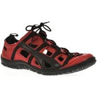 Boty Muži Pohorky Krezus Pánske kožené červené topánky VINCENT červená