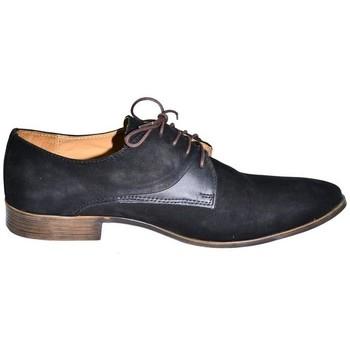 Boty Muži Šněrovací polobotky  I-Guana Kožené pánske topánky HERNO čierna