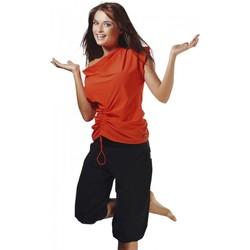 Textil Ženy Trička s krátkým rukávem Winner Fitness tričko Atena III orange