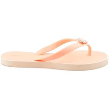 Boty Ženy Žabky Vices Elegantní oranžové žabky s ozdobou