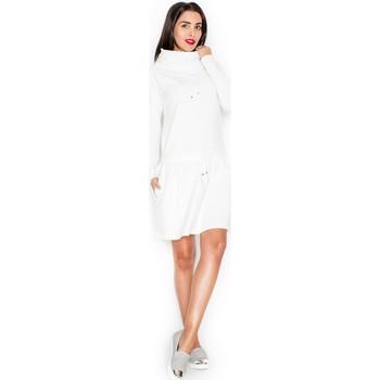 Textil Ženy Šaty Katrus Dámské šaty K260 ecru