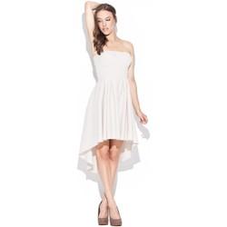 Textil Ženy Šaty Katrus Dámské šaty K031 beige