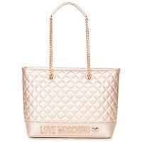 Taška Ženy Velké kabelky / Nákupní tašky Love Moschino JC4003PP15 Růžová / Zlatá