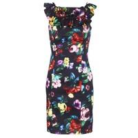 Textil Ženy Krátké šaty Love Moschino WVG3100 Černá / Vícebarevná