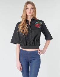 Textil Ženy Košile / Halenky Love Moschino WCC5401 Černá