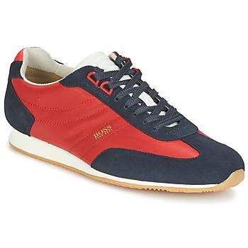 Boty Muži Nízké tenisky Hugo Boss Orange ORLANDO LOW PROFILE Červená / Tmavě modrá
