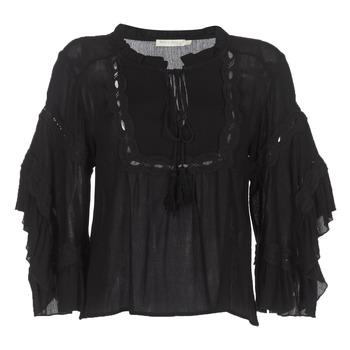 Textil Ženy Halenky / Blůzy See U Soon 8112057 Černá