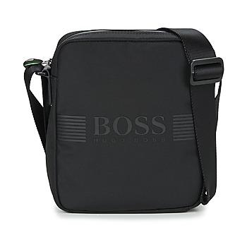 Taška Muži Malé kabelky Hugo Boss Green PIXEL NS ZIP Černá