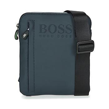 Taška Muži Malé kabelky Hugo Boss Green HYPER T S ZIP Tmavě modrá / Bílá