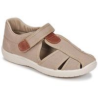 Boty Chlapecké Sandály Citrouille et Compagnie GUNCAL Béžová