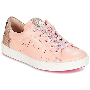 Boty Dívčí Nízké tenisky Acebo's VERAMET Růžová
