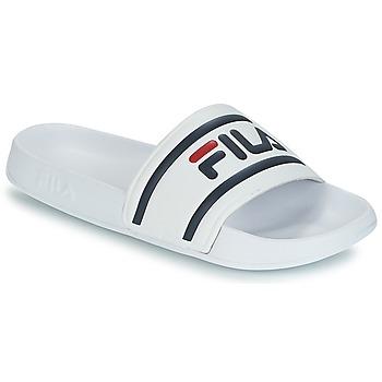Boty Muži pantofle Fila MORRO BAY SLIPPER Bílá