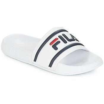 Boty Ženy pantofle Fila MORRO BAY SLIPPER WMN Bílá