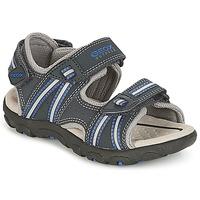 Boty Chlapecké Sportovní sandály Geox J S.STRADA A Tmavě modrá