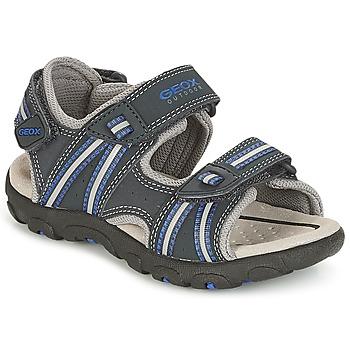2856f34827d Geox Sportovní sandály J S.STRADA A - Modrá
