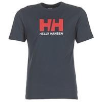 Textil Muži Trička s krátkým rukávem Helly Hansen HH LOGO Tmavě modrá