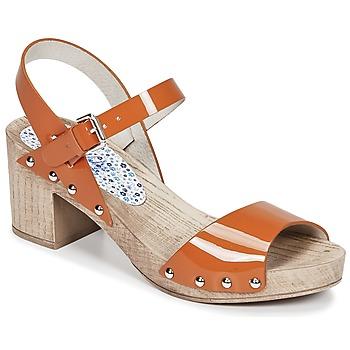 Boty Ženy Sandály Ippon Vintage SOK COLORS Oranžová