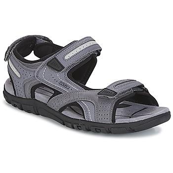 Boty Muži Sportovní sandály Geox S.STRADA D Šedá