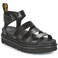 Boty Ženy Sandály Dr Martens BLAIRE Černá