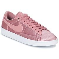 Boty Ženy Nízké tenisky Nike BLAZER LOW SE W Růžová