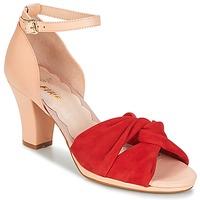 Boty Ženy Sandály Miss L'Fire EVIE Červená / Růžová