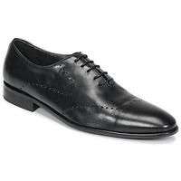 Boty Muži Šněrovací společenská obuv So Size LOJA Černá