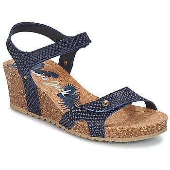 Boty Ženy Sandály Panama Jack JULIA Tmavě modrá