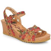 Boty Ženy Sandály Panama Jack VERA Červená