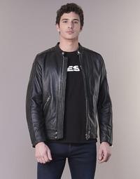 Textil Muži Kožené bundy / imitace kůže Diesel L SQUAD Černá