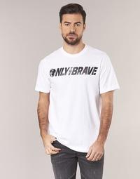 Textil Muži Trička s krátkým rukávem Diesel T JUST SV Bílá
