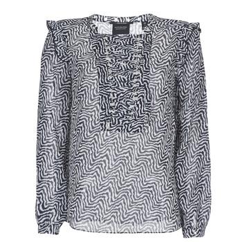 Textil Ženy Halenky / Blůzy Maison Scotch OLZAKD Černá / Bílá
