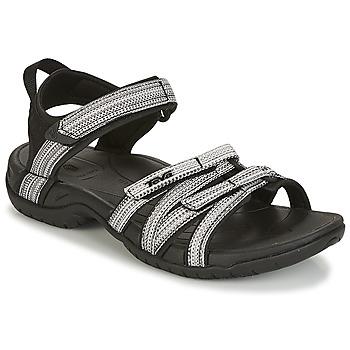 Boty Ženy Sandály Teva TIRRA Černá / Bílá