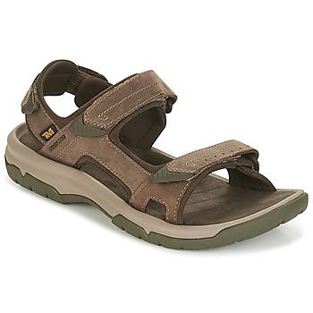 Boty Muži Sandály Teva LANGDON SANDAL Hnědá