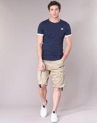 Textil Muži Kraťasy / Bermudy G-Star Raw ROVIC ZIP LOOSE 1/2 Béžová