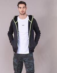 Textil Muži Mikiny G-Star Raw STRETT SLIM HOODED ZIP THRU SW L/S Černá