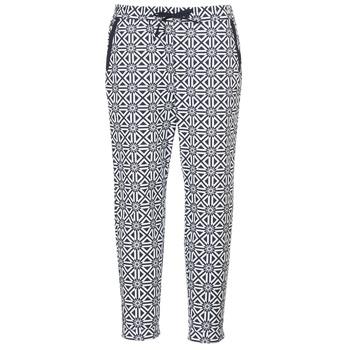Textil Ženy Mrkváče G-Star Raw BRONSON MID SPORT CHINO WMN Bílá / Tmavě modrá
