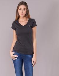Textil Ženy Trička s krátkým rukávem G-Star Raw EYBEN SLIM V T WMN S/S Černá