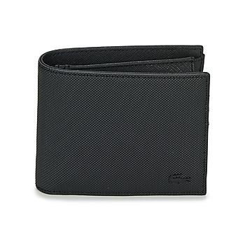 Taška Muži Peněženky Lacoste MEN'S CLASSIC Černá