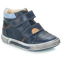 Boty Chlapecké Kotníkové boty GBB ROBERT Modrá