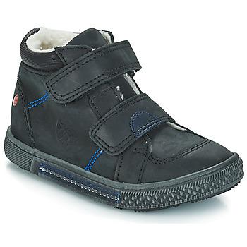 Boty Chlapecké Kotníkové boty GBB ROBERT Černá