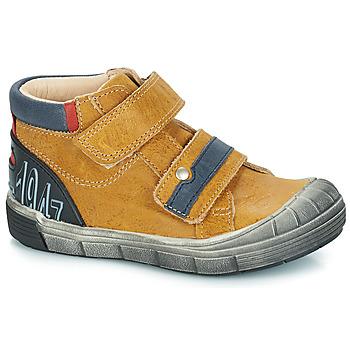 Boty Chlapecké Kotníkové boty GBB REMI Velbloudí hnědá
