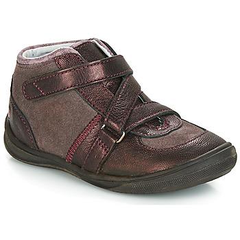 Boty Dívčí Kotníkové boty GBB RIQUETTE Hnědá / Bronzová