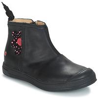 Boty Dívčí Kotníkové boty GBB ROMANE Černá
