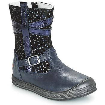 Boty Dívčí Kotníkové boty GBB NARCISSE Tmavě modrá