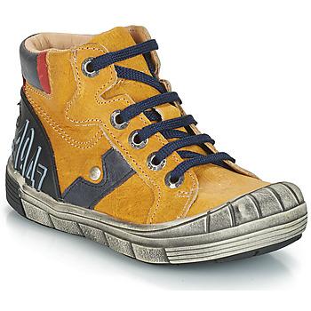 Boty Chlapecké Kotníkové boty GBB RENZO Žlutá