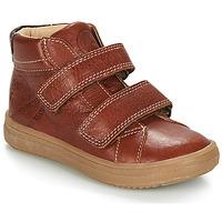 Boty Chlapecké Kotníkové boty GBB NAZAIRE Světle hnědá