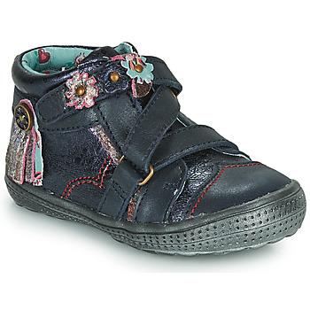Boty Dívčí Kotníkové boty Catimini ROQUETTE Tmavě modrá