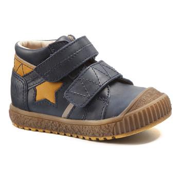 Boty Chlapecké Kotníkové boty Catimini RADIS Modrá - okrová