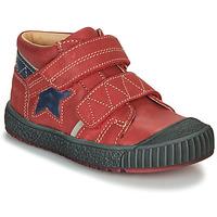 Boty Chlapecké Kotníkové boty Catimini RADIS červená - modrá